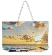 Blues And Golds Of Summer II Weekender Tote Bag