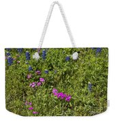 Blues And Pinks Weekender Tote Bag