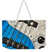 Blues Bass Weekender Tote Bag