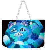 Blues Cat Weekender Tote Bag