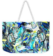 Blues Fishes Weekender Tote Bag