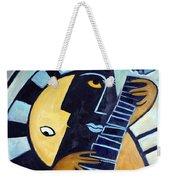 Blues Guitar Weekender Tote Bag