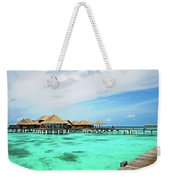 Blues In Maldivian Performance  Weekender Tote Bag