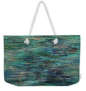 Blues In The Moment Weekender Tote Bag