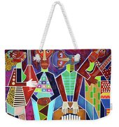 Blues Music Weekender Tote Bag