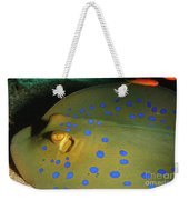 Bluespotted Ribbontail Ray  Weekender Tote Bag
