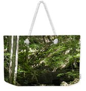 Bluestone State Park Mountain Stream West Virginia Weekender Tote Bag