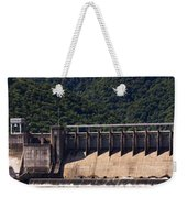 Bluestone West Virginia Dam Panorama Weekender Tote Bag