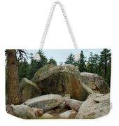 Bluff Lake Ca Boulders 3 Weekender Tote Bag