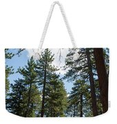 Bluff Lake Ca Through The Trees 4 Weekender Tote Bag