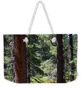 Bluff Lake Ca Through The Trees 7 Weekender Tote Bag