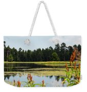 Bluff Lake Ca Wild Flowers 12 Weekender Tote Bag