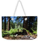 Bluff Lake Forest Foliage1 Weekender Tote Bag