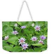Blumen Des Wassers - Flowers Of The Water 22 Weekender Tote Bag