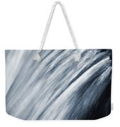 Blurred Detail For Falling Water Weekender Tote Bag