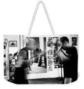 Blurred Training Weekender Tote Bag