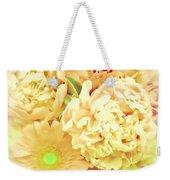 Blush Floral Bouquet Weekender Tote Bag