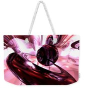 Blushing Abstract Weekender Tote Bag