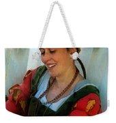 Blushing Bavarian Bridesmaid Weekender Tote Bag