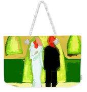 Blushing Bride And Groom 2 Weekender Tote Bag