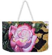 Blushing Rose Weekender Tote Bag