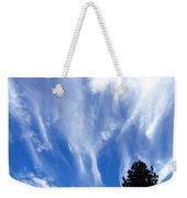 Blustery Sky Weekender Tote Bag