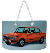 Bmw 2002 1968 Painting Weekender Tote Bag