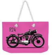 The R24 Motorcycle Weekender Tote Bag