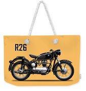 The R26 Motorcycle Weekender Tote Bag