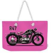 The R47 Motorcycle Weekender Tote Bag