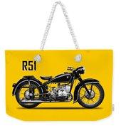 The R51 Motorcycle Weekender Tote Bag