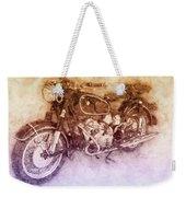 Bmw R60/2 - 1956 - Bmw Motorcycles 2 - Vintage Motorcycle Poster - Automotive Art Weekender Tote Bag