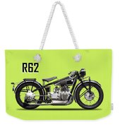 The R62 Motorcycle Weekender Tote Bag