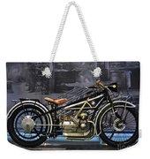Bmw Vintage Motorcycle Weekender Tote Bag