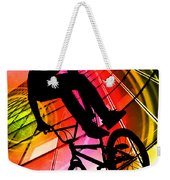 Bmx In Lines And Circles Weekender Tote Bag