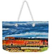 Bnsf Train Hdr Weekender Tote Bag