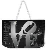 Bnw Philly Love 0218b Weekender Tote Bag