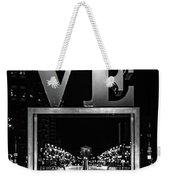 Bnw Philly Love 0218c Weekender Tote Bag