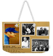 Bo Schembechler Legend Five Panel Weekender Tote Bag