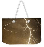 Bo Trek Lightning Art Weekender Tote Bag