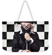 Board Member With Tactical Strategy Game Plan Weekender Tote Bag