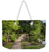Boardwalk Bridge Maymont Japanese Garden Weekender Tote Bag