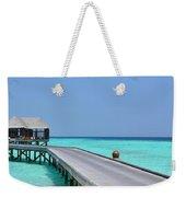 Boardwalk In Paradise Weekender Tote Bag