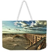 Boardwalk On The Beach Weekender Tote Bag