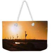 Boardwalk Sunset Weekender Tote Bag