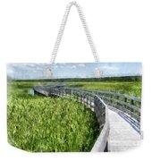 Boardwalk Through The Dunes Prince Edward Island Weekender Tote Bag