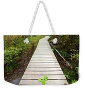 Boardwalk To Backguard Falls In British Columbia Weekender Tote Bag