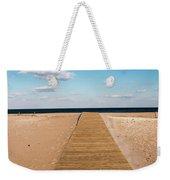Boardwalk To The Ocean Weekender Tote Bag