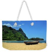 Boat And Bali Hai Weekender Tote Bag