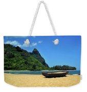 Boat And Bali Hai Weekender Tote Bag